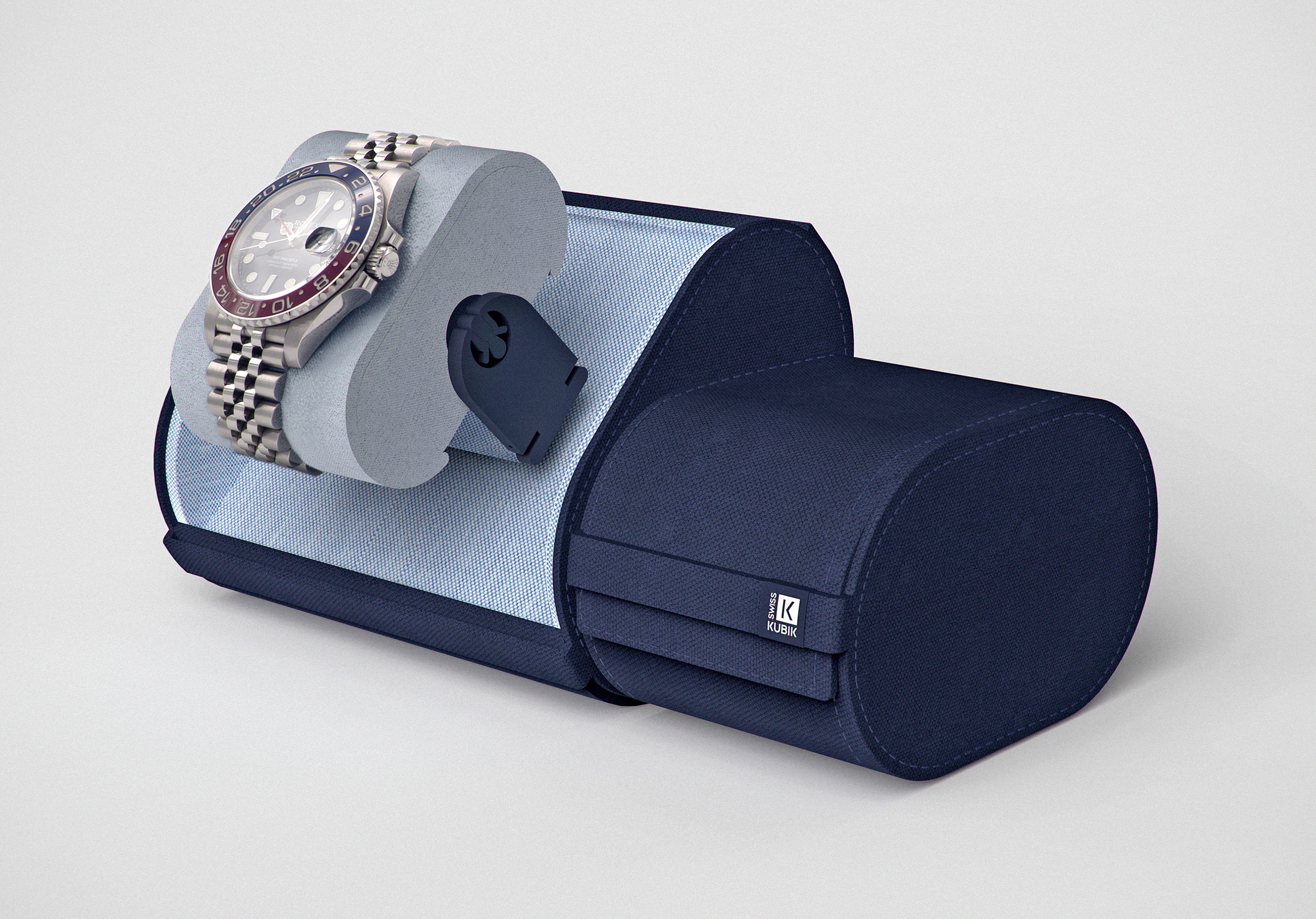 SWISSKUBIK LAUNCHES THE TRAVELBOX – THE FIRST TRAVEL WATCH WINDER CASE!
