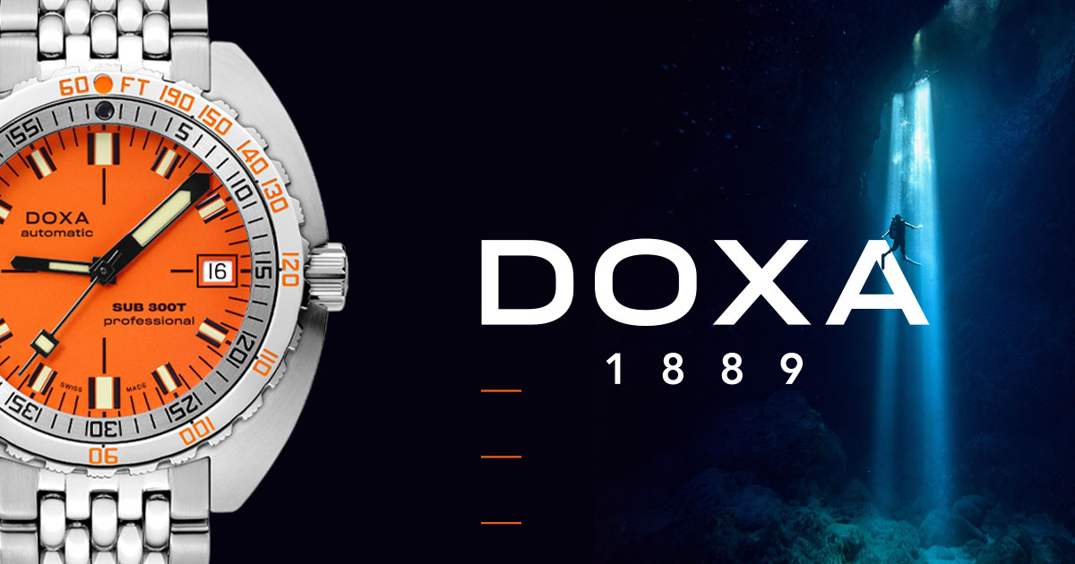 SWISS BRAND DOXA WATCHES SHIFTS INTO HIGH GEAR  ON INTERNATIONAL GROWTH TRACK